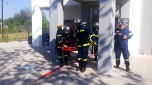Ετήσια άσκηση Πυροσβεστικής Υπηρεσίας